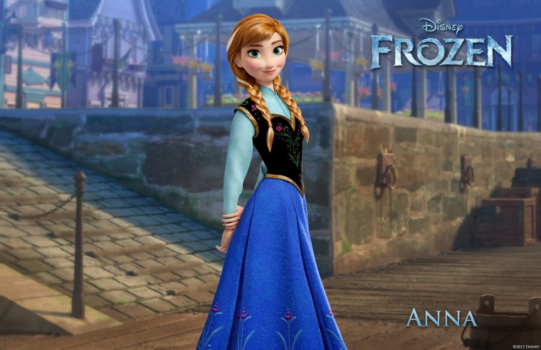 """FROZEN"" (Pictured) ANNA.  ©2013 Disney. All Rights Reserved."